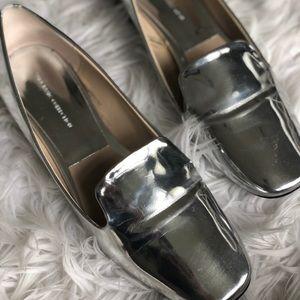 Zara mule loafers